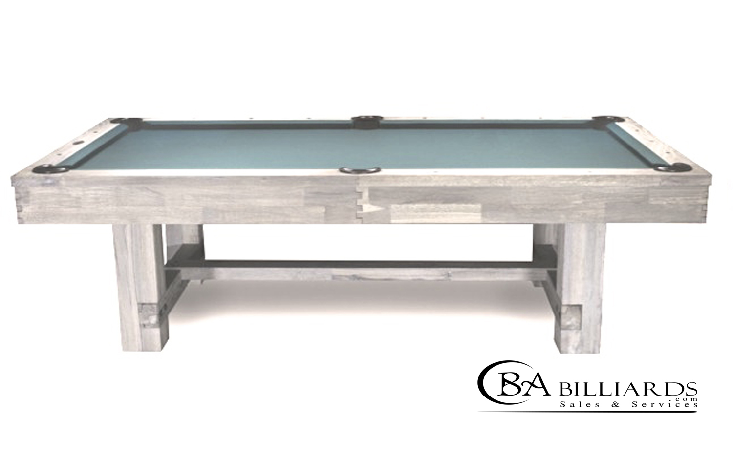 BRENTWOOD POOL TABLE POOL TABLES FOR SALE Rustic Pool Tables - White billiard table