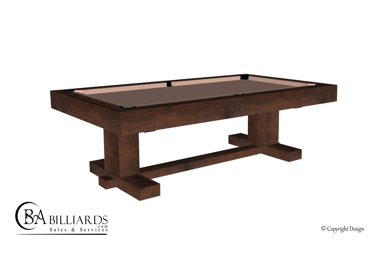 Farmhouse Rustic Pool Table
