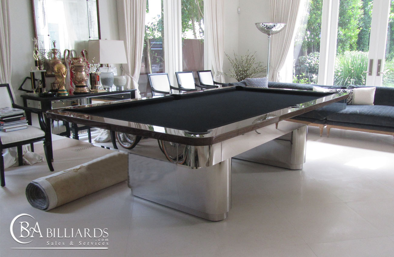 Galaxy contemporary pool tables custom pool tables - Modern pool table ...