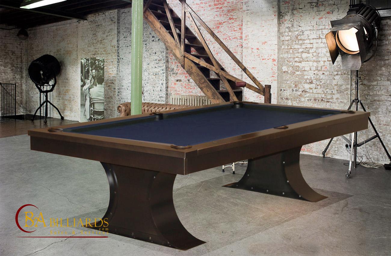 Industrial Pool Tables Metal Pool Tables Steel Pool Tables - Industrial style pool table