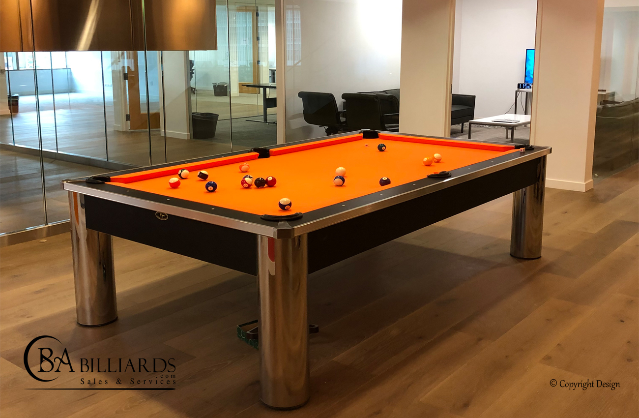 MODERN POOL TABLE DESIGN