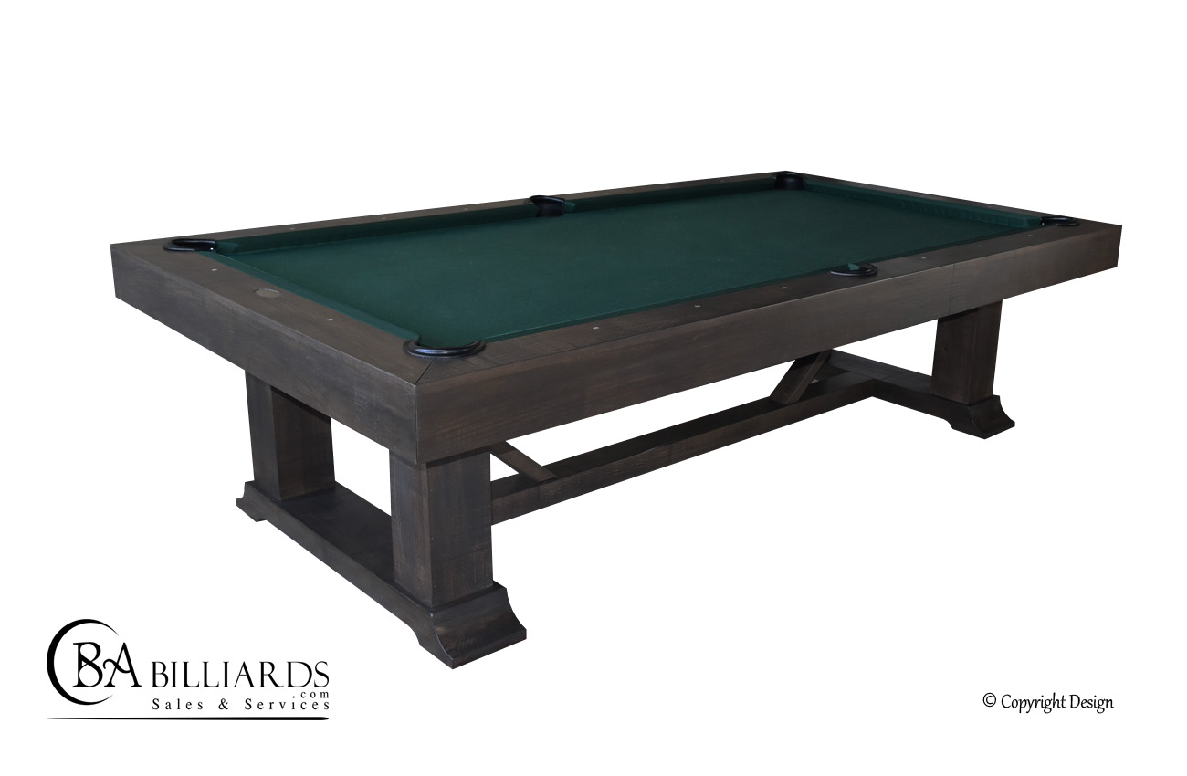 Montana Rustic pool table