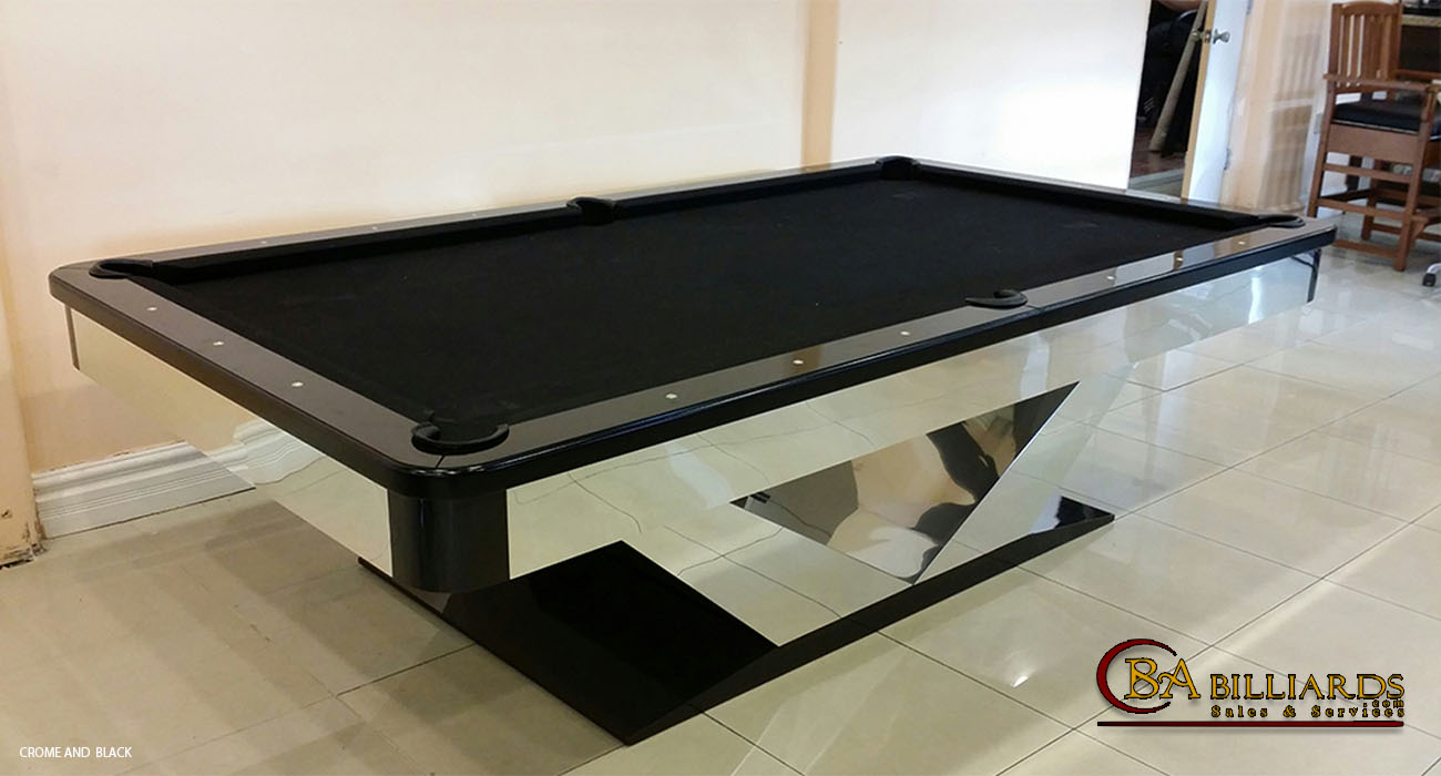Contemporary Pool Tables Custom Pool Tables Modern Pool Tables - Black modern pool table