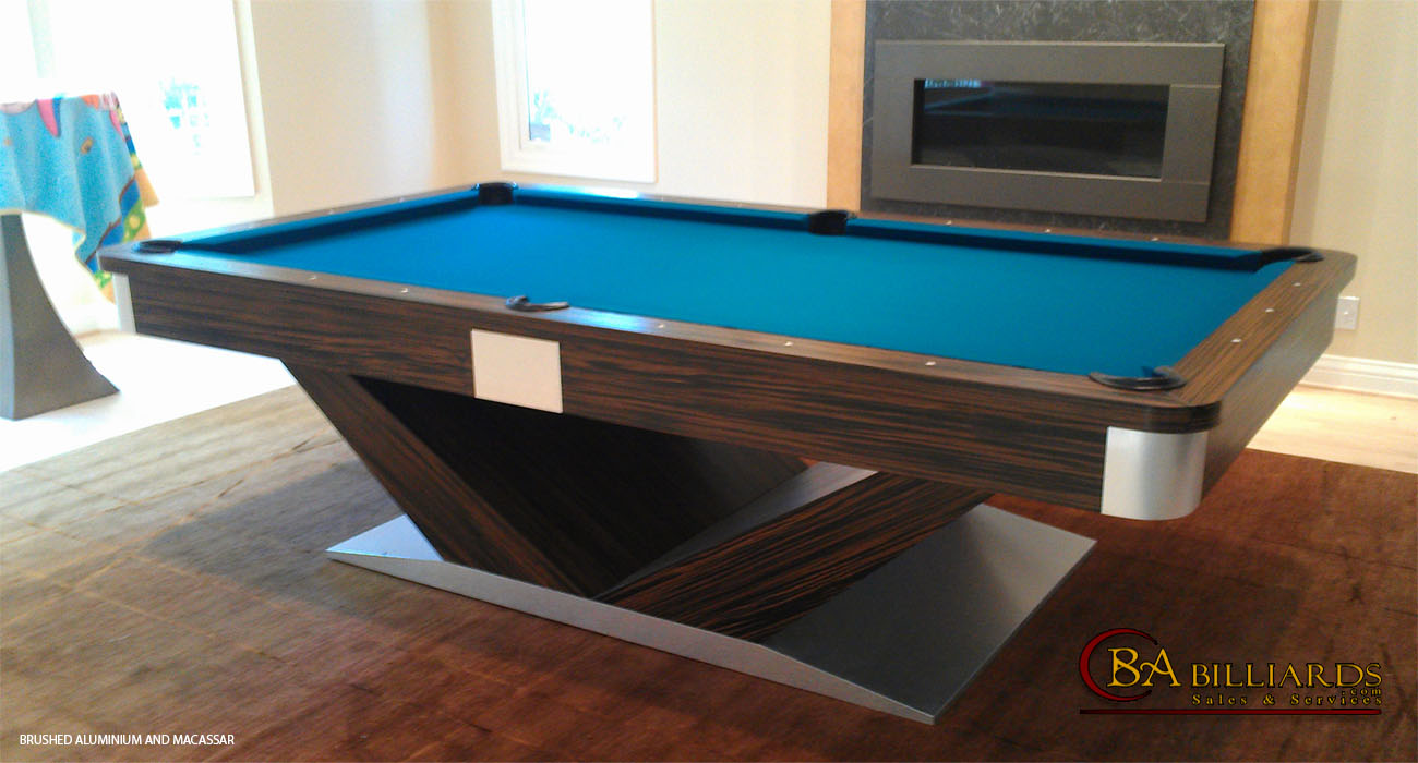 CONTEMPORARY POOL TABLES MODERN POOL TABLES CONTEMPORARY - Modern pool table designs