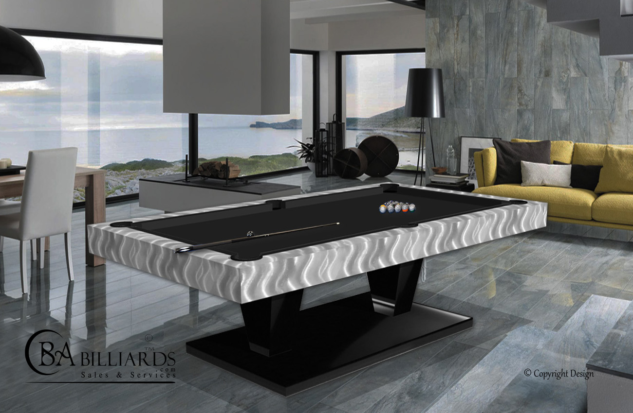 Provocative-Modern-Pool-Table-Metal-Black