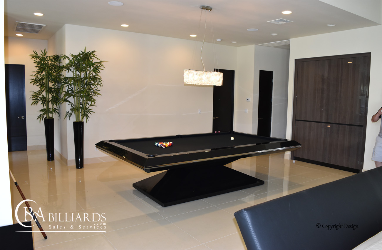 Pyramid Contemporary Pool Tables Modern Pool Table
