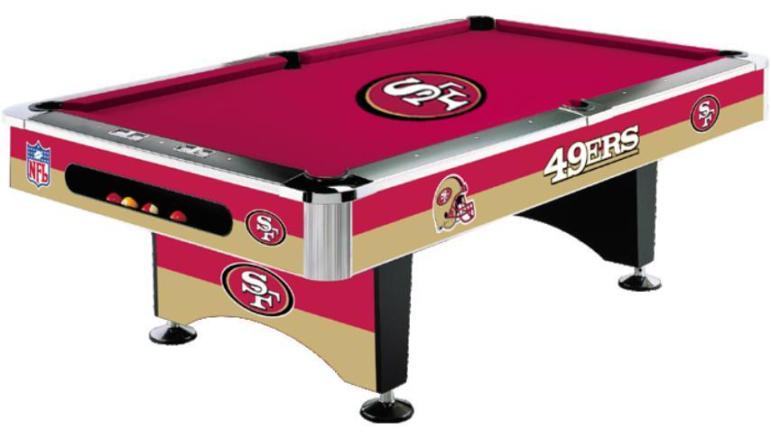 nfl-san-francisco-49ers-licensed-pool-tables