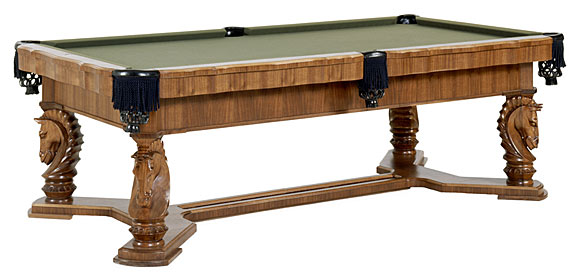 troy pool table