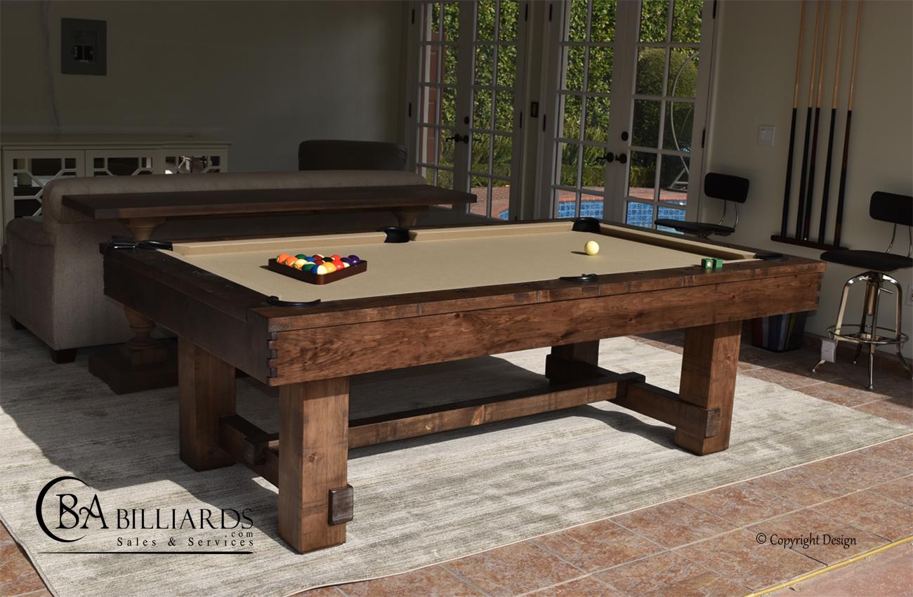 Rustic Pool Tables