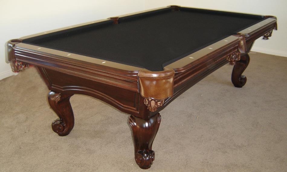 Black Felt Pool Table Designs